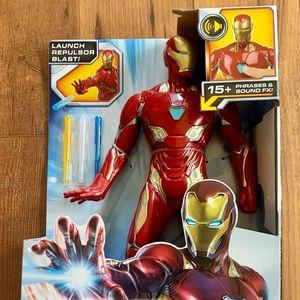 Avengers endgame iron man repulsor blast